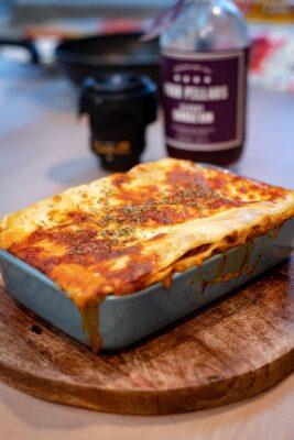 zelfgemaakte lasagna